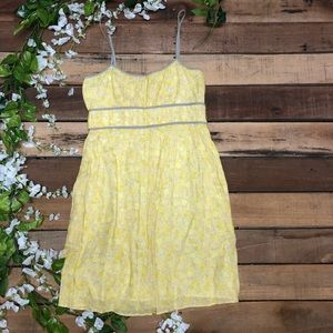Zara Yellow Sundress Dress